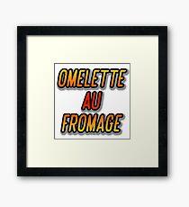 OMELETTE AU / DU FROMAGE - Dexter's Laboratory Framed Print