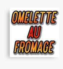 OMELETTE AU / DU FROMAGE - Dexter's Laboratory Canvas Print