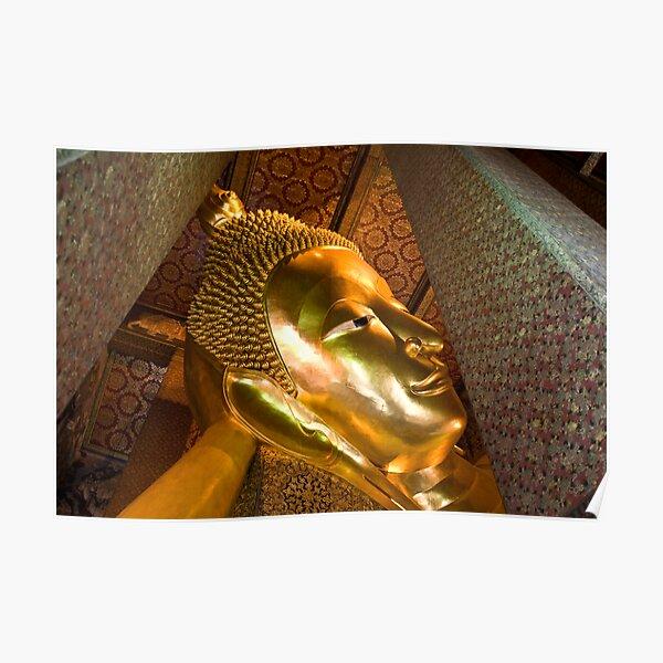 Reclining Buddha (Bangkok, Thailand) Poster