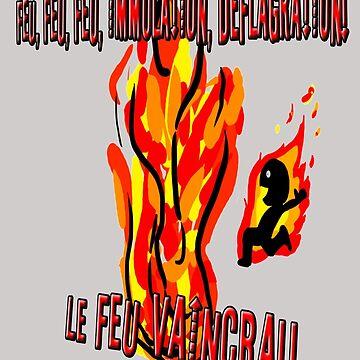 Feu, Immolation, Déflagration by xBlark