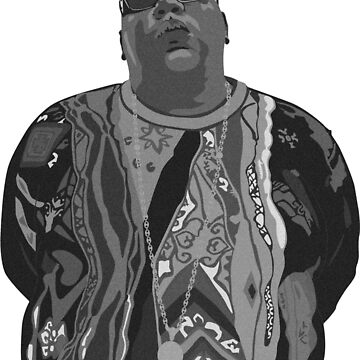 B.I.G Notorious Biggie by dreamtofly