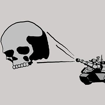 The Skull by xBlark