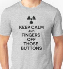 Anti-Nuclear War-Keep Calm T-Shirt