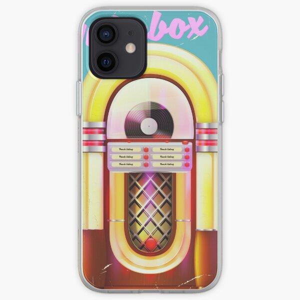 vintage Jukebox poser, iPhone Soft Case