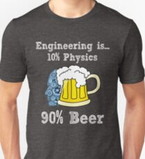 This Engineer Needs A Beer Funny Drinking T-Shirt