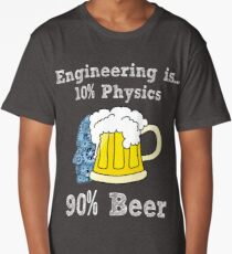 This Engineer Needs A Beer Funny Drinking Long T-Shirt