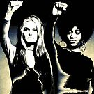 Gloria Steinem and Dorothy Pitman-Hughes, 1972  by #PoptART products from Poptart.me