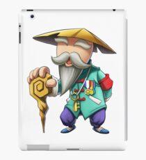 Coolest Grandpa Cartoon Drawing iPad Case/Skin