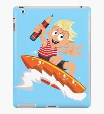 Surfer-boy  iPad Case/Skin