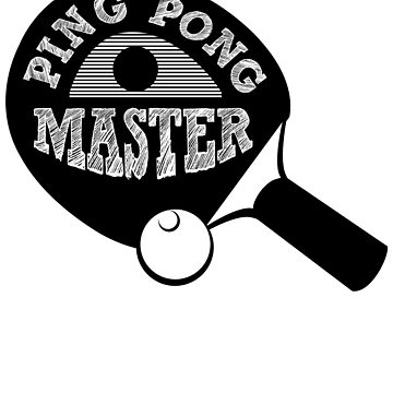 Ping Pong Master Table Tennis by Bolerovo