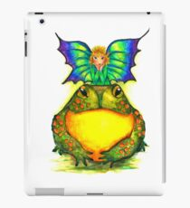 Fairy and Frog Friends  iPad Case/Skin