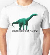 Sauropod way green T-Shirt