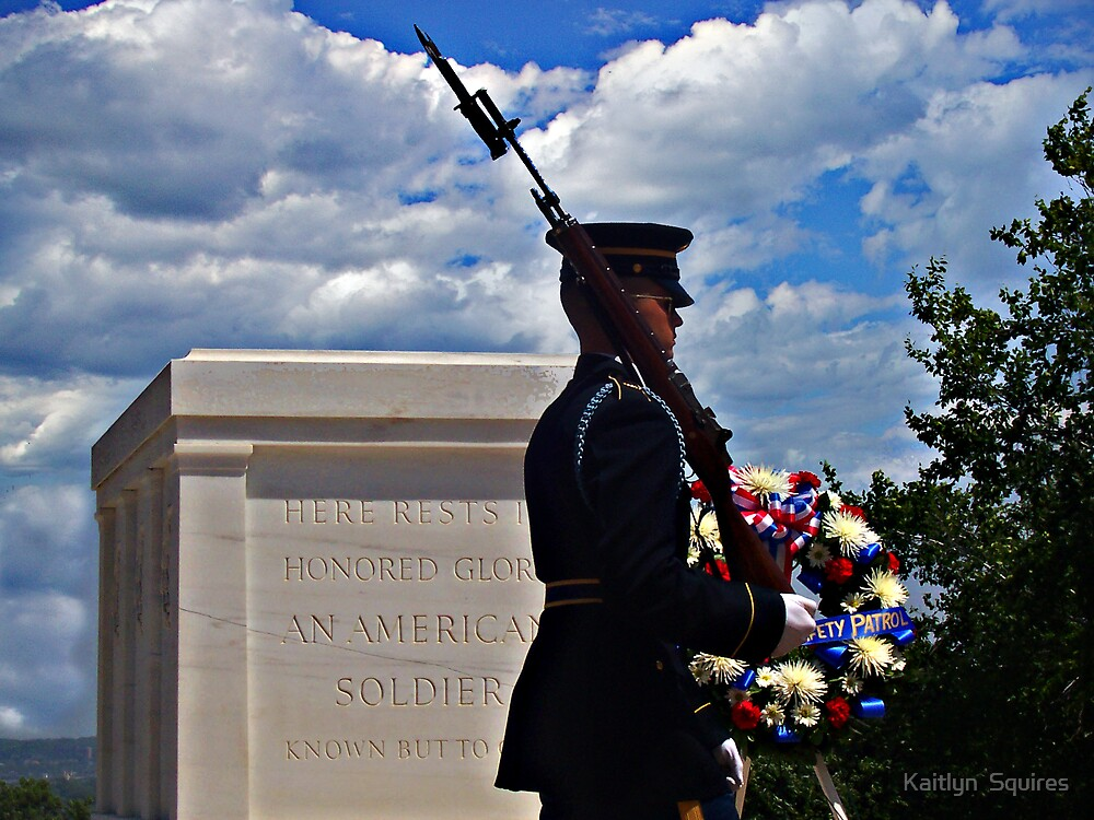 Tomb of the unknown soldier by Kaitlyn  Squires