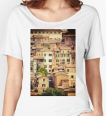 Beautiful Tuscany Women's Relaxed Fit T-Shirt