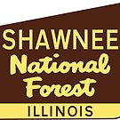 Shawnee National Forest Illinois Hiking Climbing Camping Park by MyHandmadeSigns