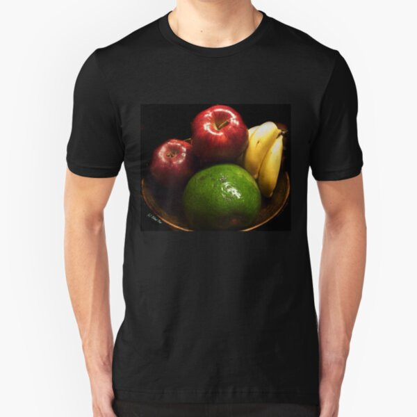Fruits Slim Fit T-Shirt
