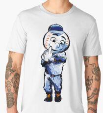 Mr. Met Middle Finger Men's Premium T-Shirt