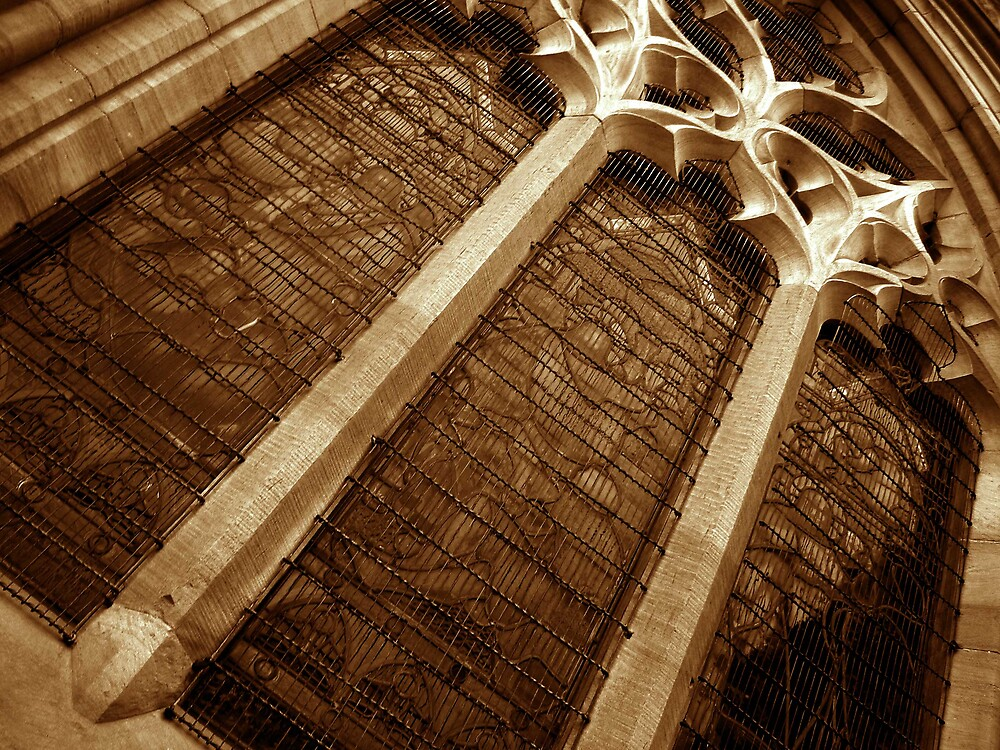 Church window by thatredkid