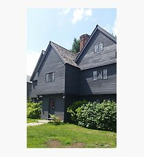 The Salem Witch House Photographic Print