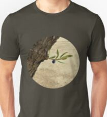 One black olive on an olive branch T-Shirt