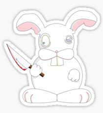 Killer the Murderbunny Sticker