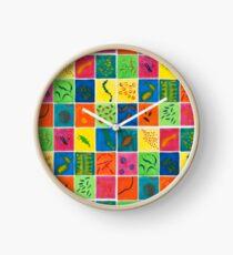 Big Bright Bacteria  Clock