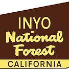 INYO NATIONAL FOREST CALIFORNIA YOSEMITE DEATH VALLEY NATIONAL PARK SIERRA NEVADA by MyHandmadeSigns
