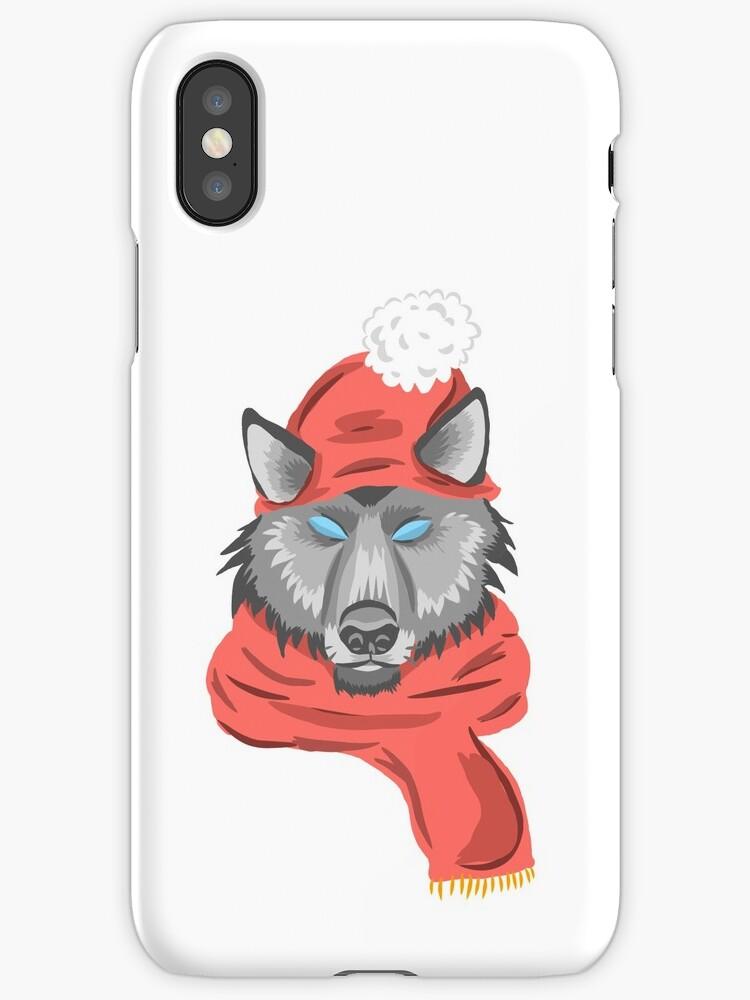 wolf knitting winter hat by badweatherahead