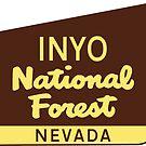 INYO NATIONAL FOREST NEVADA YOSEMITE DEATH VALLEY NATIONAL PARK SIERRA WHITE by MyHandmadeSigns