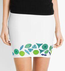 Marine Diatoms  Mini Skirt