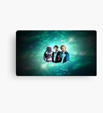 The Two Doctors Redux Canvas Print