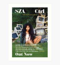 SZA - Ctrl | Album Poster Art Print