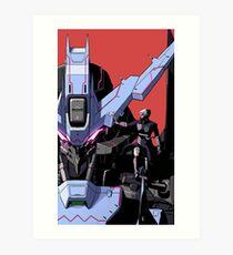 『VIDAR』 ASW-G-XX Gundam Vidar Art Print