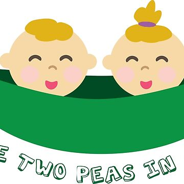 Peas in a Pod (boy/girl twins) by twinsmagazine