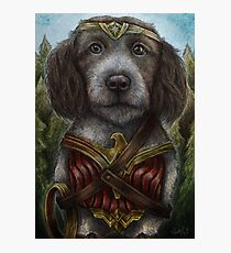 Wonder Dog Photographic Print