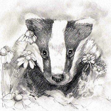 Badger by crazycanonmom