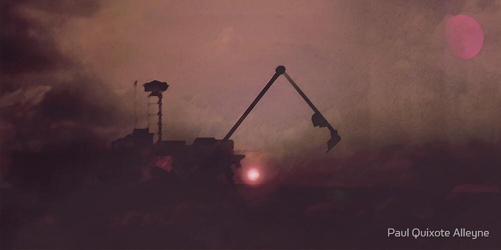 MINING ON MARS by Paul Quixote Alleyne