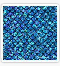 Magical Sparkly Mermaid Scales Sticker