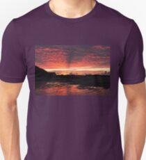 Sunset on Tràigh Mhòr, Barra Airport T-Shirt