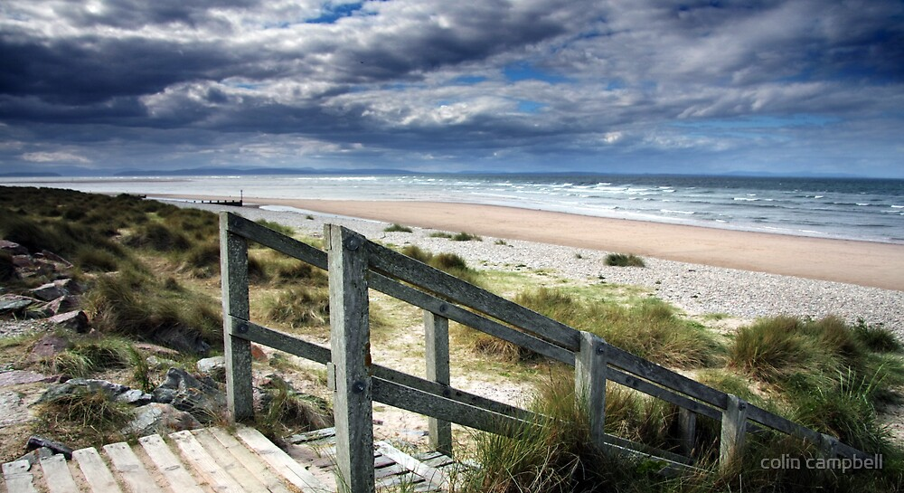 Beach II by colin campbell