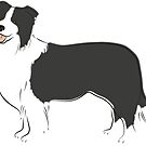 Just A Border Collie by grumpyteds