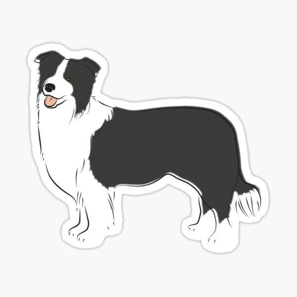 Just A Border Collie Sticker