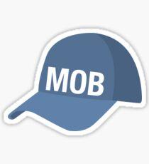 Mobile Baseball Cap Sticker