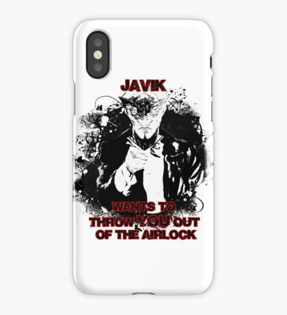 Uncle Javik wants you iPhone Case/Skin