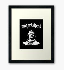 Mozartshead! Framed Print