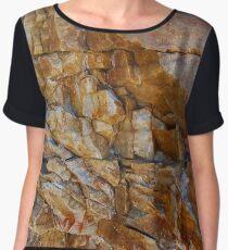 Stone texture Women's Chiffon Top