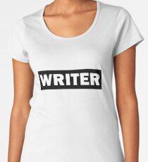 Writer Women's Premium T-Shirt