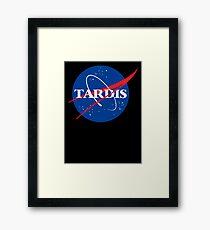 Dr Who Tardis T-Shirt Framed Print