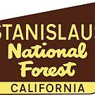 STANISLAUS NATIONAL FOREST CALIFORNIA RAFTING HIKING by MyHandmadeSigns