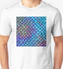 Colorful Mermaid scales T-Shirt